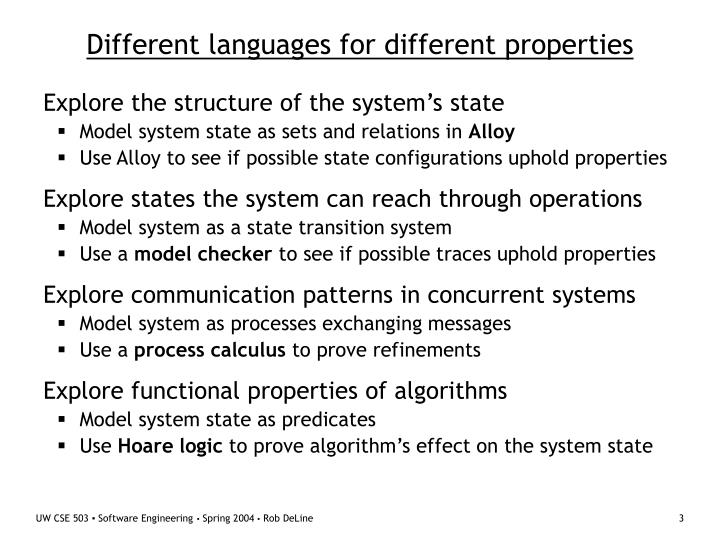 Different languages for different properties