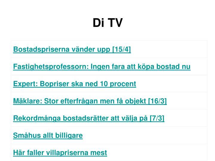 Di TV