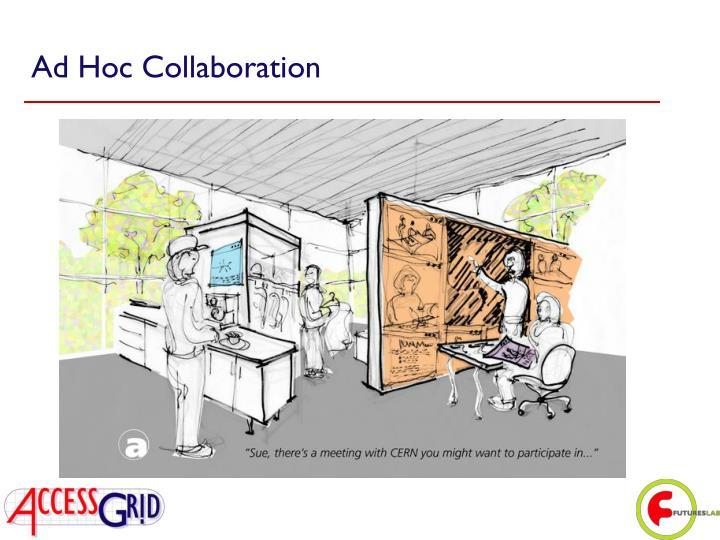 Ad Hoc Collaboration