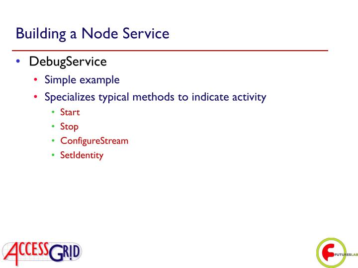 Building a Node Service