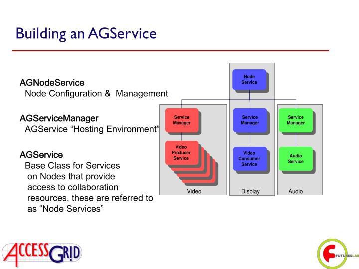 Building an AGService