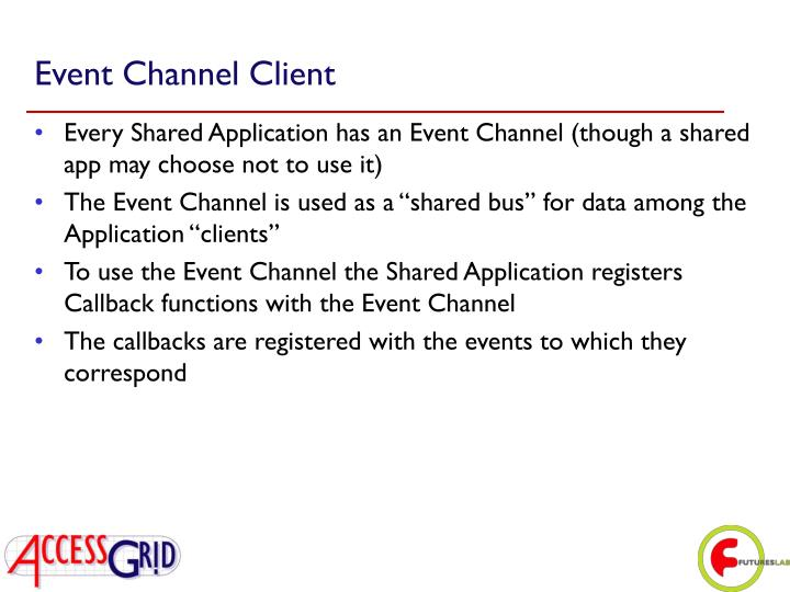 Event Channel Client