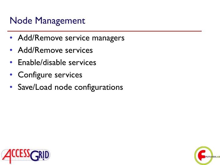 Node Management