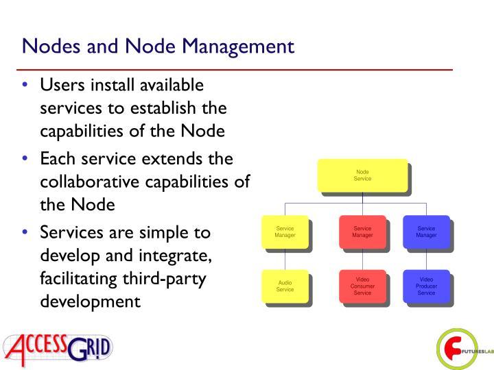 Nodes and Node Management