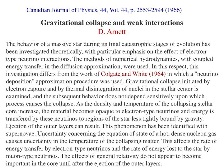 Canadian Journal of Physics, 44, Vol. 44, p. 2553-2594 (1966)
