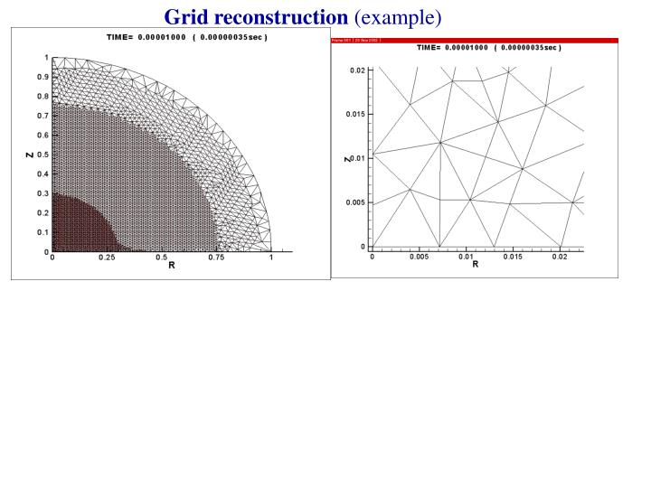 Grid reconstruction