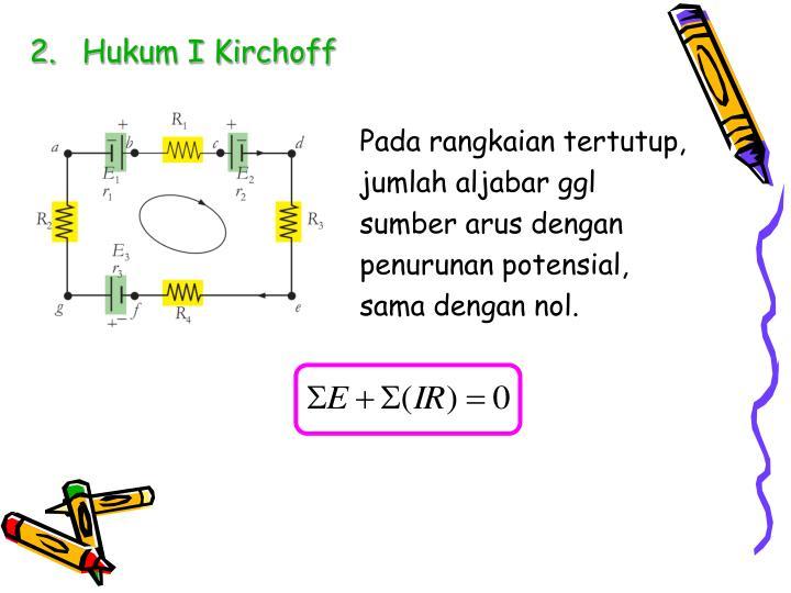 Hukum I Kirchoff