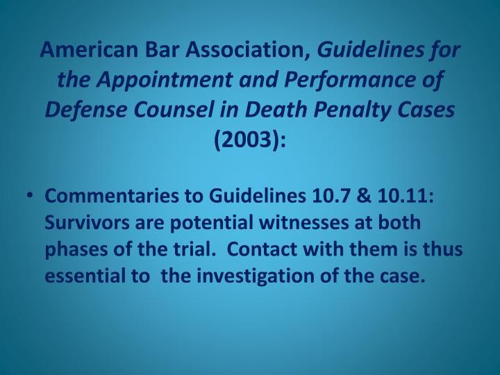 American Bar Association,