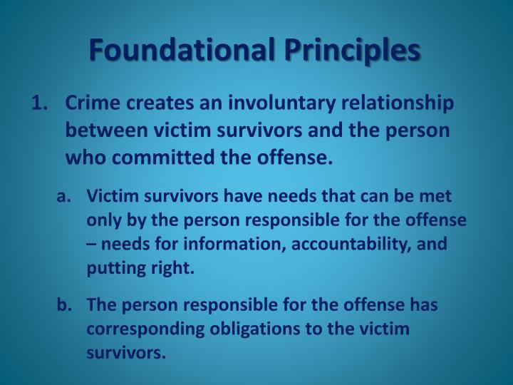 Foundational Principles