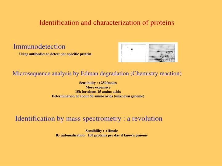 Immunodetection