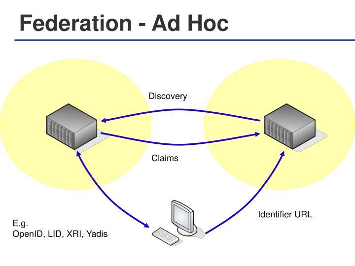 Federation - Ad Hoc