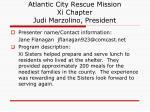 atlantic city rescue mission xi chapter judi marzolino president