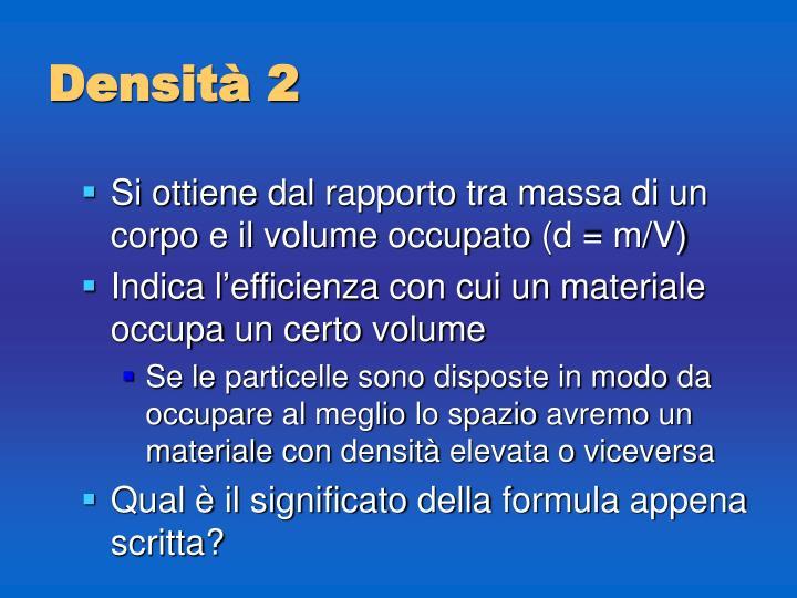 Densità 2