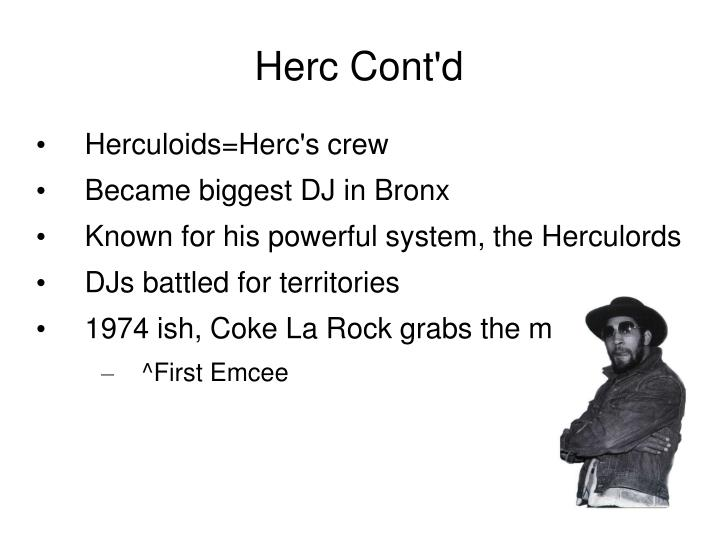 Herc Cont'd
