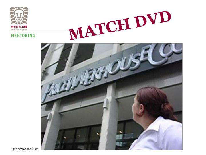 MATCH DVD