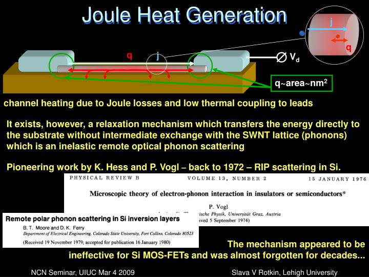 Joule Heat Generation