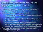 pelaksanaan pendapatan dan belanja negara daerah psl 11s d 12