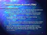 treasury single account tsa