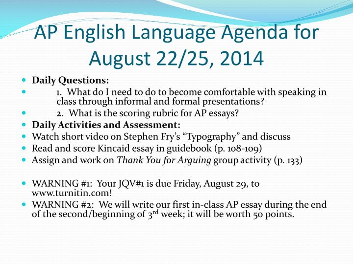 ap english language and composition argumentative essay prompts