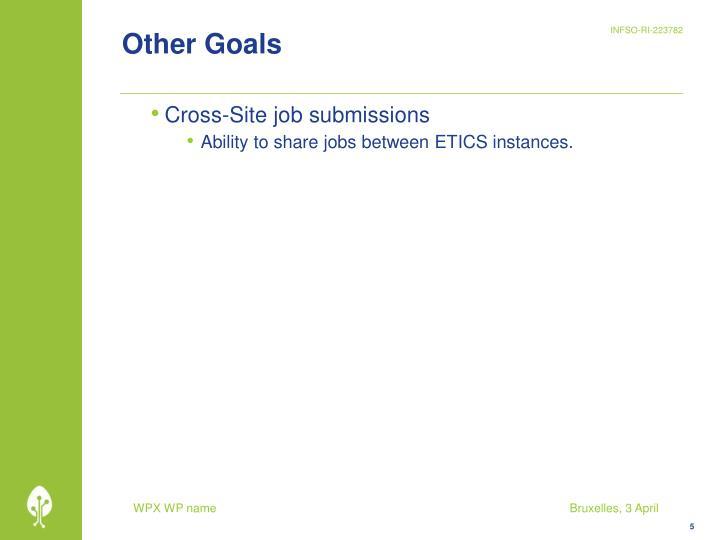 Other Goals