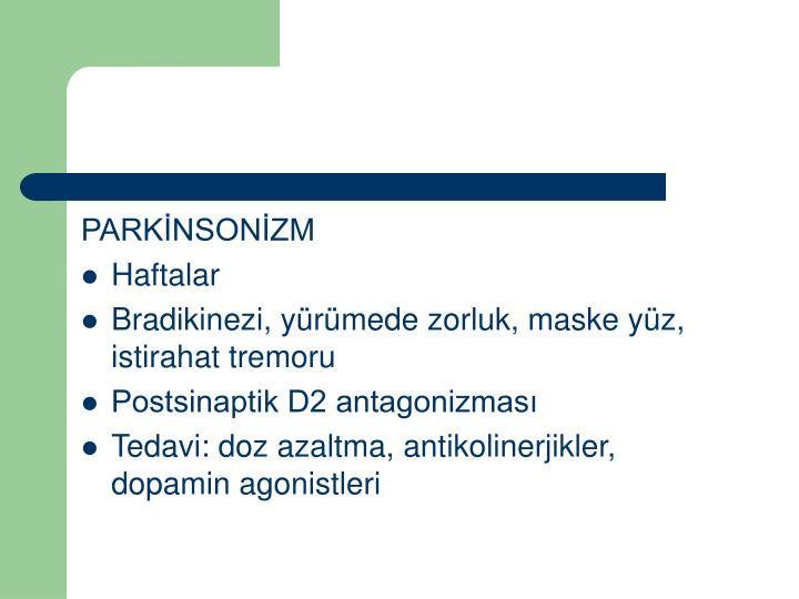 PARKİNSONİZM