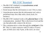 rs 232c standard