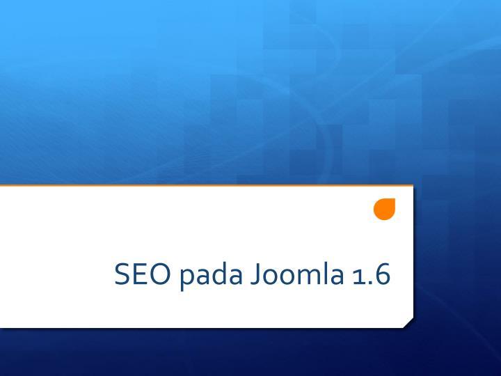 SEO pada Joomla 1.6