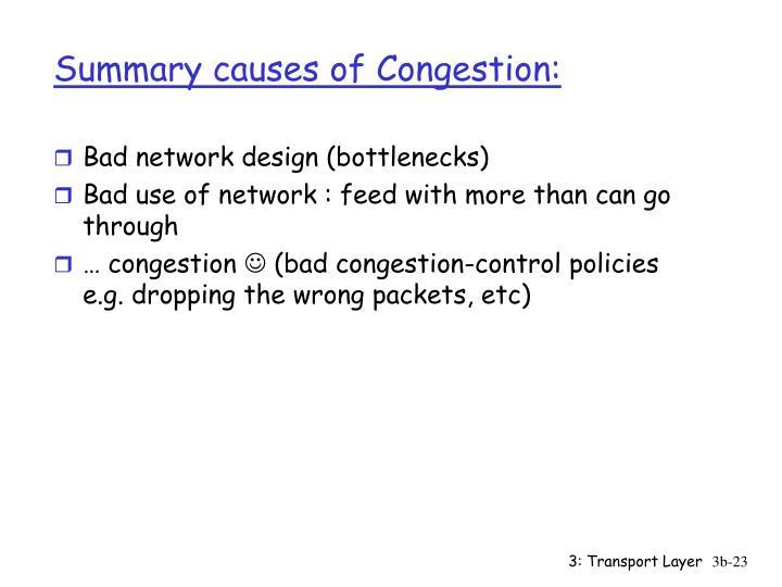 Bad network design (bottlenecks)