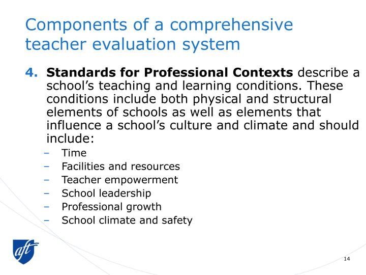 Components of a comprehensive