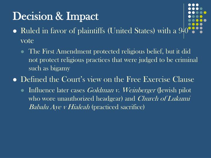 Decision & Impact
