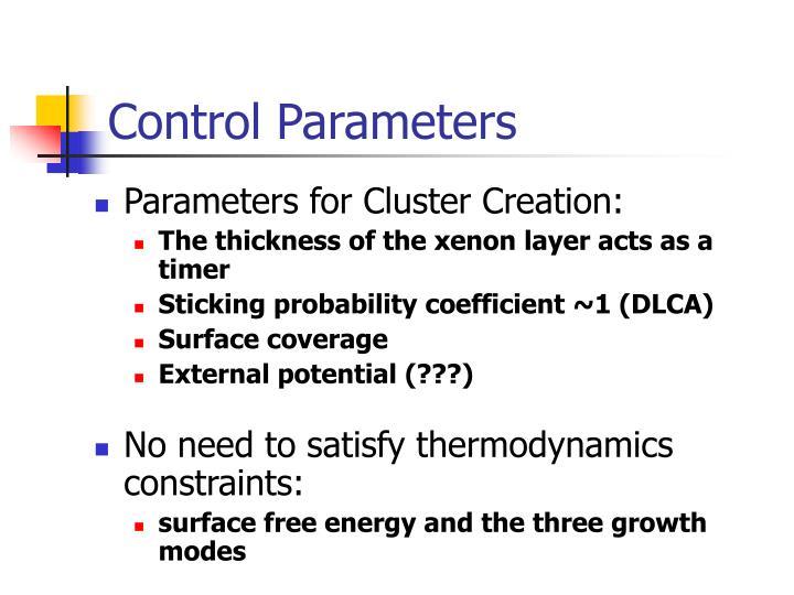 Control Parameters