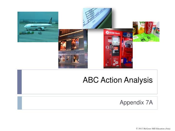 ABC Action Analysis