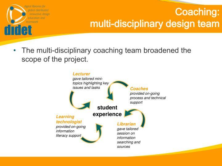 Coaching: