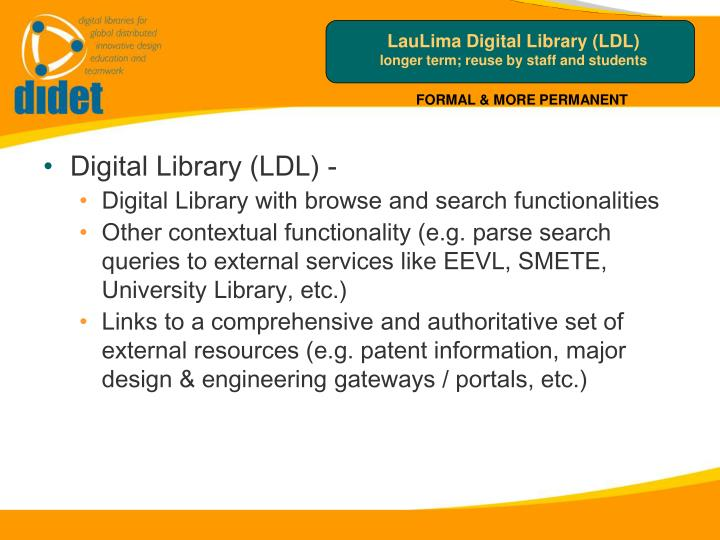 LauLima Digital Library (LDL)