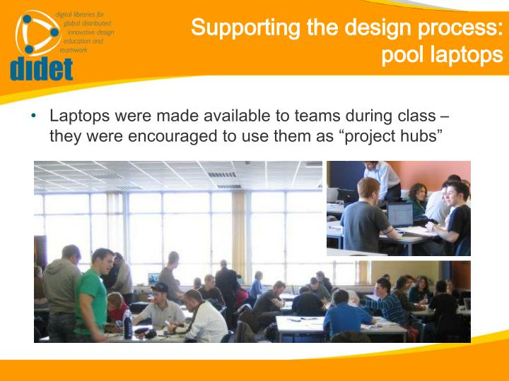 Supporting the design process: