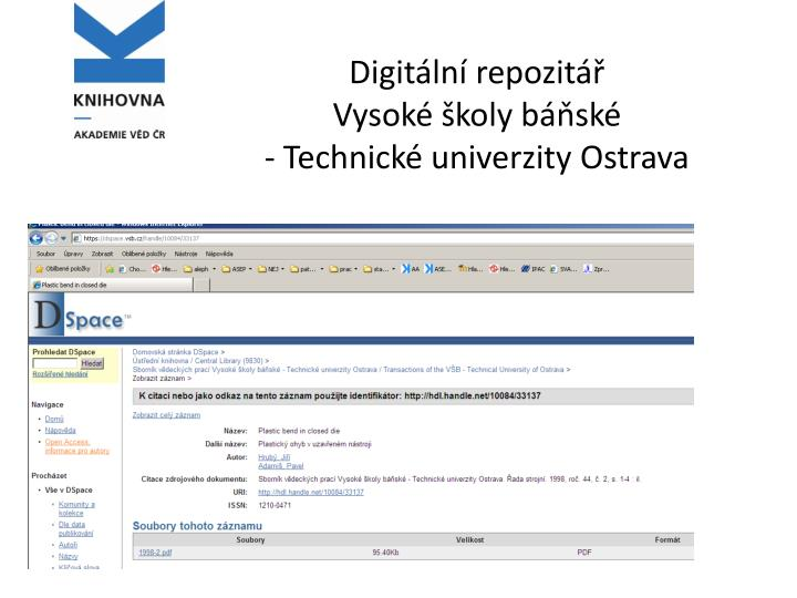 Digitální repozitář