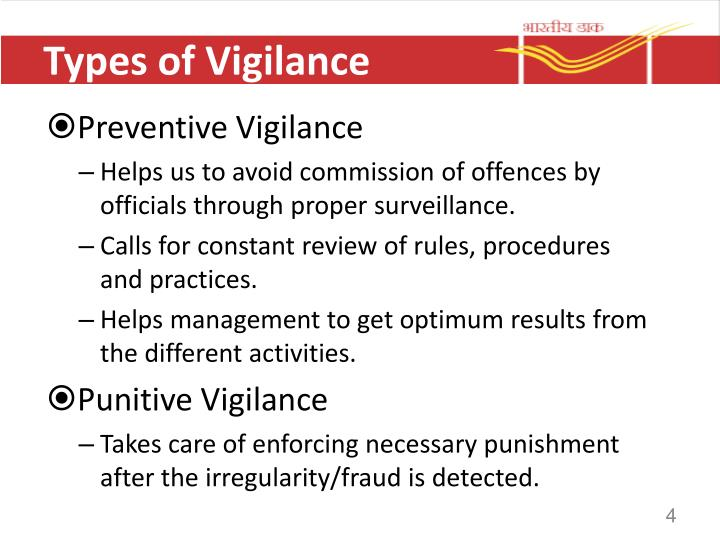 Types of Vigilance