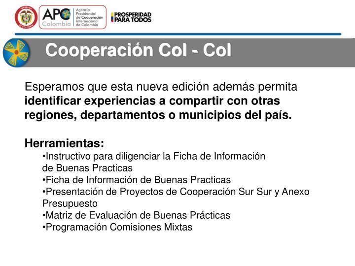 Cooperación Col - Col