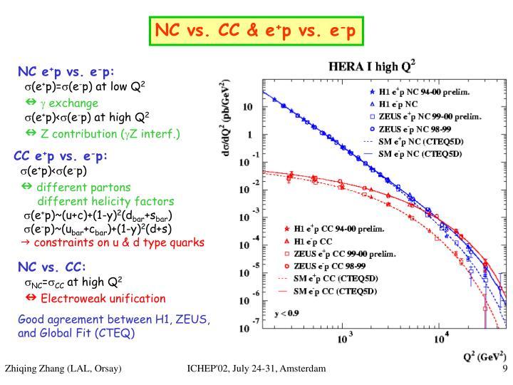 NC vs. CC & e