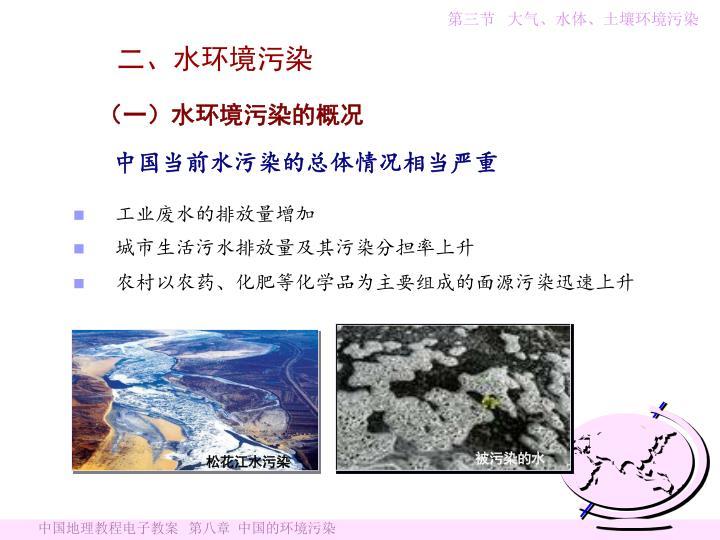 松花江水污染