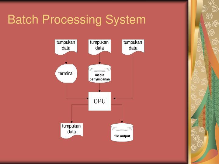 Batch Processing System