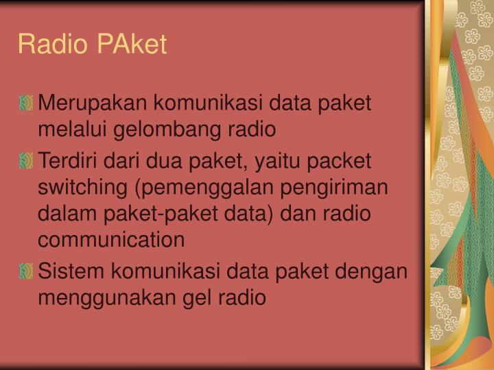 Radio PAket