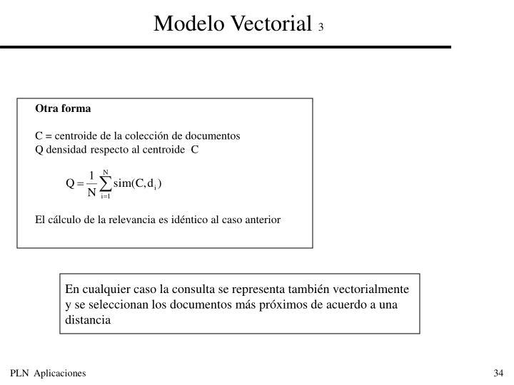 Modelo Vectorial