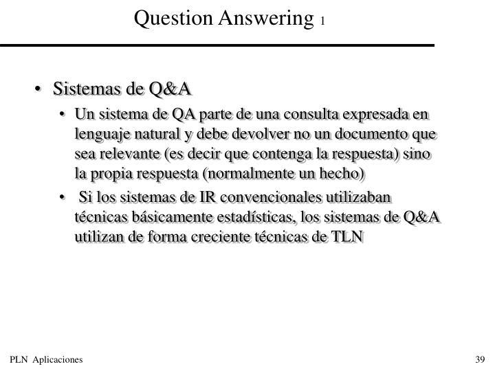 Sistemas de Q&A