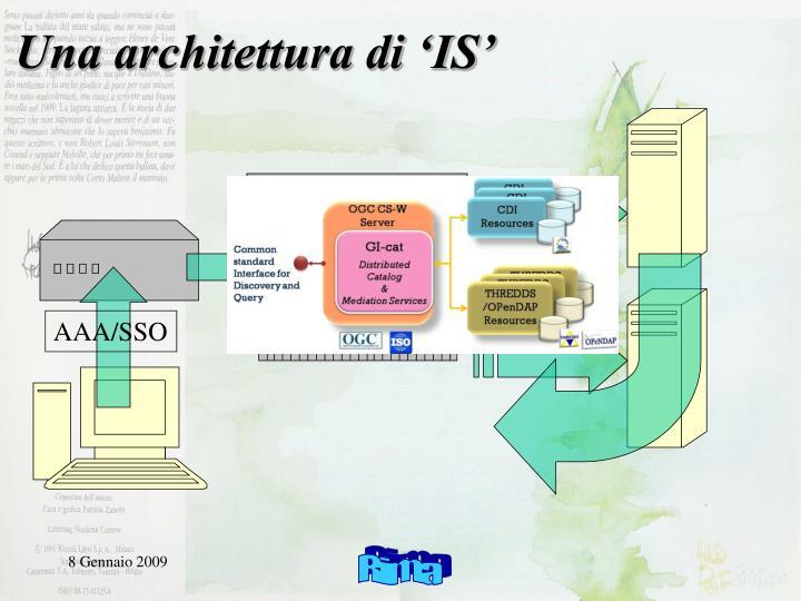 Una architettura di 'IS'