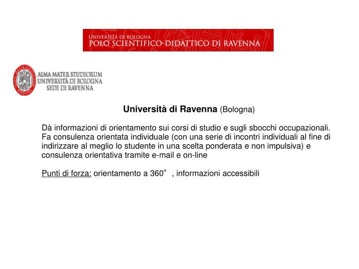 Università di Ravenna