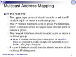 multicast address mapping2