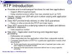 rtp introduction