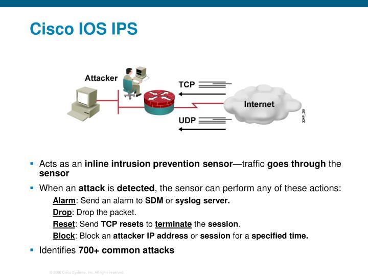 Cisco IOS IPS