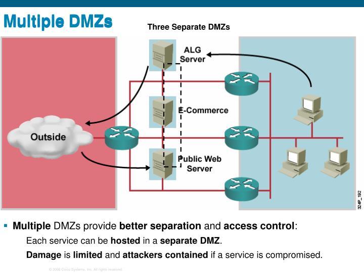 Multiple DMZs